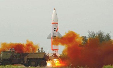 Prithvi2 missile