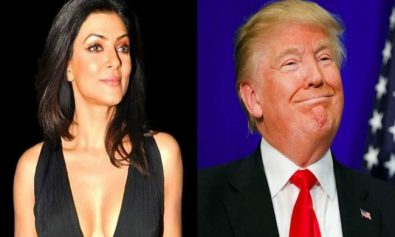 Sushmita Sen vs Donald Trump