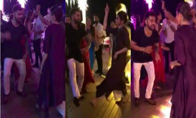 This Video Of Virat Kohli And Anushka Sharma Dancing On A Punjabi Number Tells Us All Is Well In Their Paradise