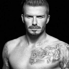 david beckam tattoos