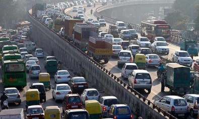 delhi-traffic-cars