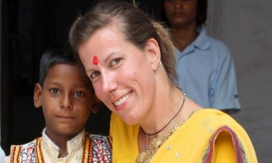 Andrea Thumshirn in India