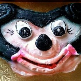 mickey mouse cake failure