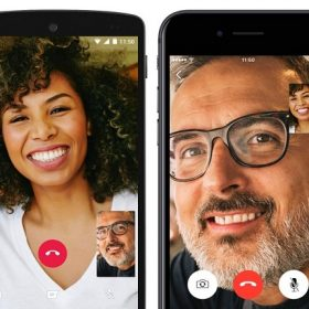whatsapp video calling screens