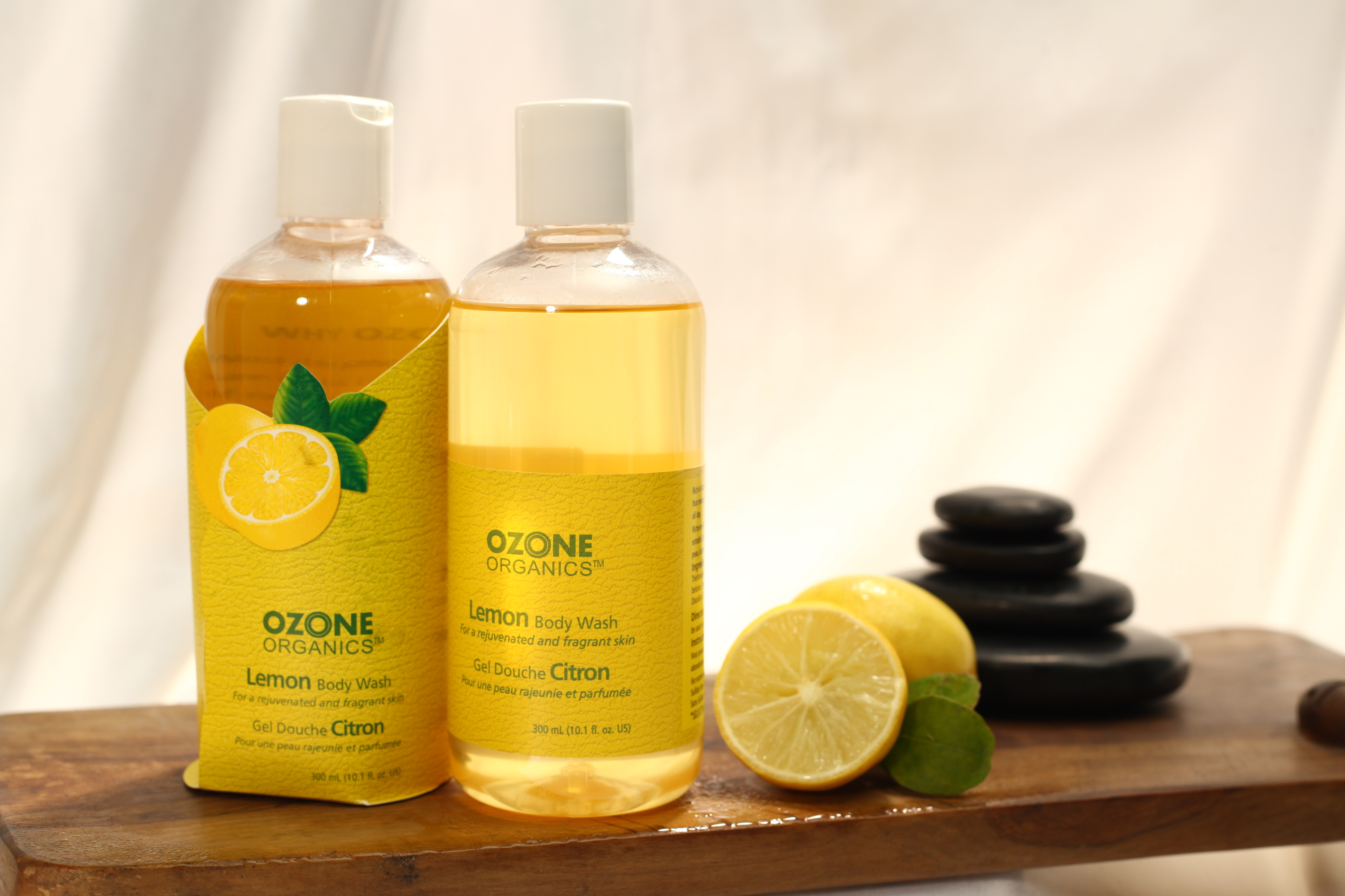 Use organic Lemon Body Wash